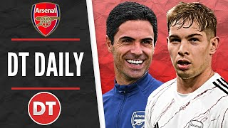 DT DAILY   SMITH ROWE SIGNS A NEW CONTRACT AT ARSENAL AND GETS THE NUMBER 10 SHIRT