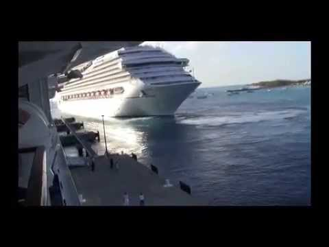 Left behind by cruise ship