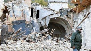 بالفيديو.. زلزال يضرب وسط إيطاليا
