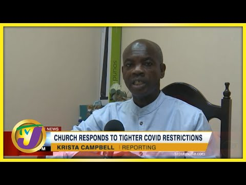 Church Responds to Tighter Covid Restrictions   TVJ News - August 21 2021