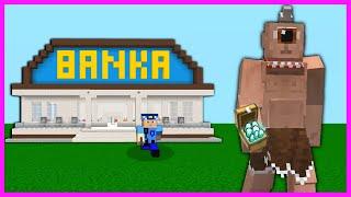 TEPEGÖZ BANKA SOYUYOR PARALARI ÇALIYOR 😱 - Minecraft