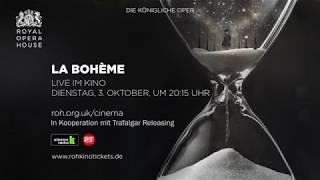 Royal Opera House: La Bohème (Deutscher Trailer)