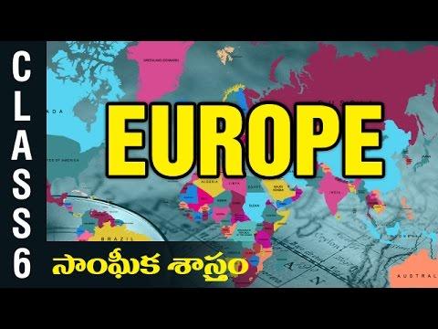 Europe | 6th Class Social  Studies | Digital Teacher