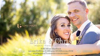 Wedding at Stanford Memorial Church Rosewood Sand Hill Hotel Menlo Park Video