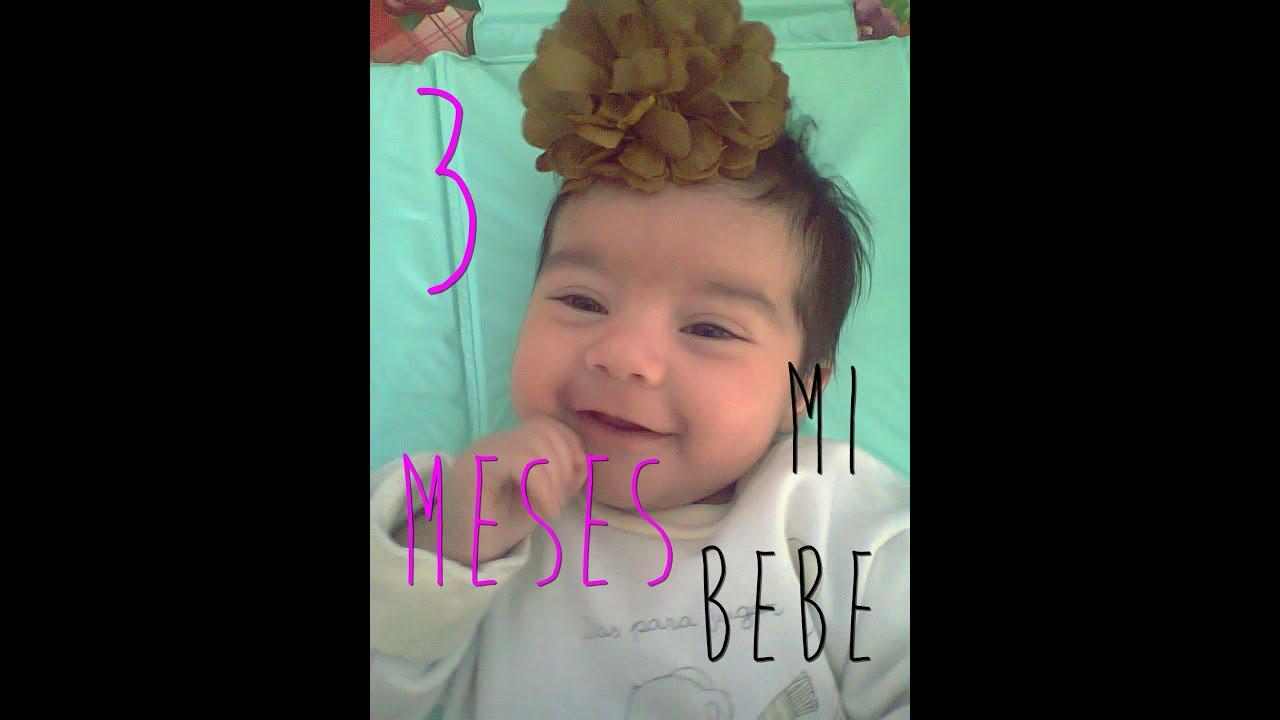 Crecimiento & desarrollo de mi bebe: Tercer mes de vida ♥ - YouTube