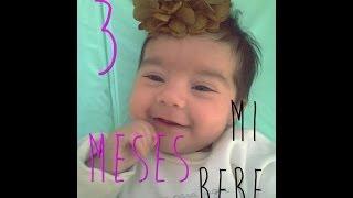 » Crecimiento & desarrollo de mi bebe: Tercer mes de vida ♥