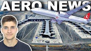 Bald größter AIRPORT der WELT? ISTANBUL AIRPORT! AeroNews