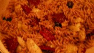 sun dried tomato pasta (a recipe good for the heart and soul)