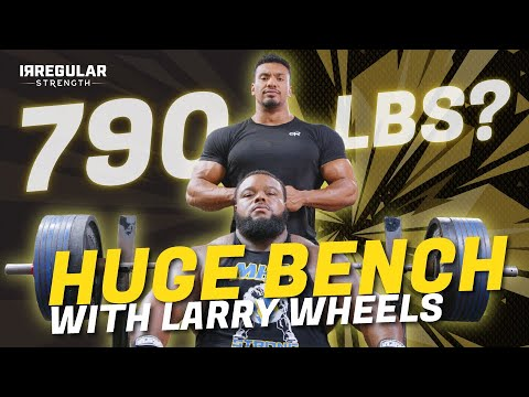 I DON'T KNOW IF I CAN DO THIS!   HUGE 790 LB BENCH WITH LARRY WHEELS   Road to 800