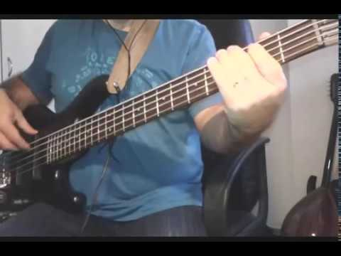 Culture Club - Do You Really Want To Hurt Me - LYRICS  Bass Cover (Pavlos Panourgias)