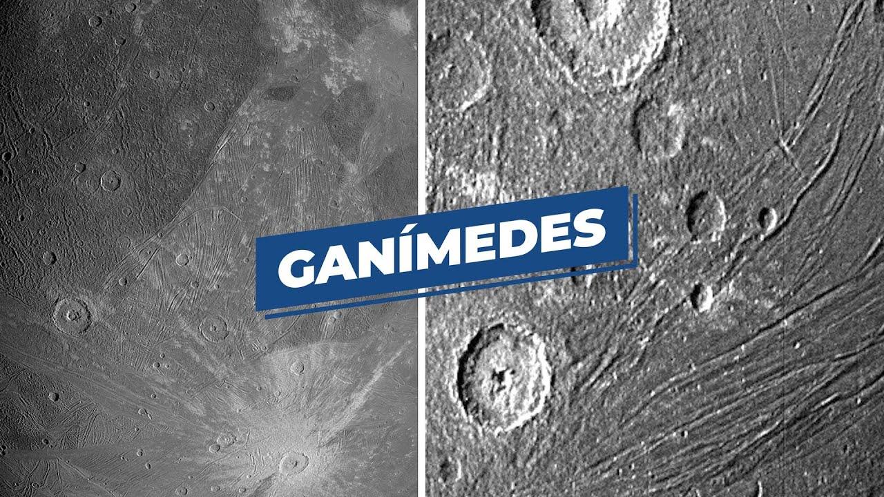 La sonda Juno vuela sobre Ganímedes