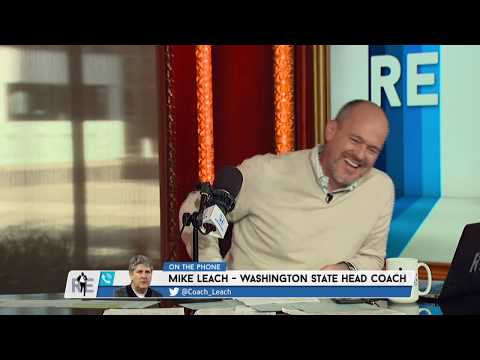 Wazzu HC Mike Leach's Thanksgiving Advice: Tiger Sauce In The Gravy   The Rich Eisen Show   11/8/18