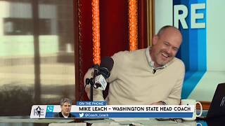 Wazzu HC Mike Leach's Thanksgiving Advice: Tiger Sauce in the Gravy | The Rich Eisen Show | 11/8/18