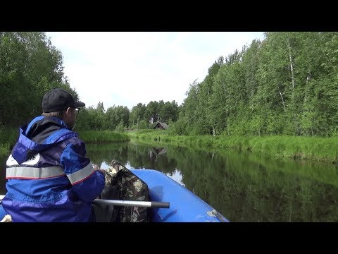 Рыбалка на Севере летом (ХМАО).  Август. Дорогами манси.