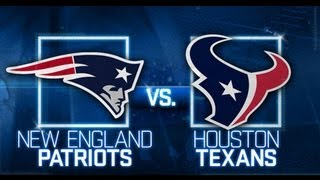 Patriots vs. Texans - AFC Divisional Round Playoff PREVIEW & Prediction (2012-2013)