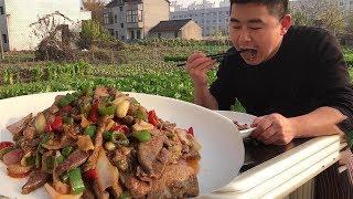 """【超小厨】""""猪肝""""重庆人这样吃!小厨只花了7块钱,香辣过瘾只差米饭!"""