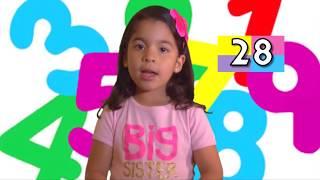 Juegos Infantiles. Contando los numeros del 1 al 100 en Ingles para niños. Kids.