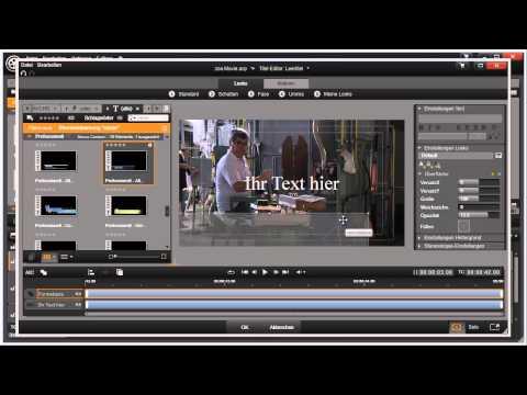 Titel Bauchbinde erstellen mit Pinnacle Studio 16 und 17 Video 62 von 114