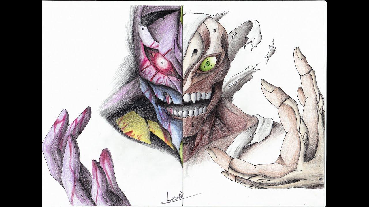How To Draw Eva01 Berserk Timelapse Como Dibujar Eva01