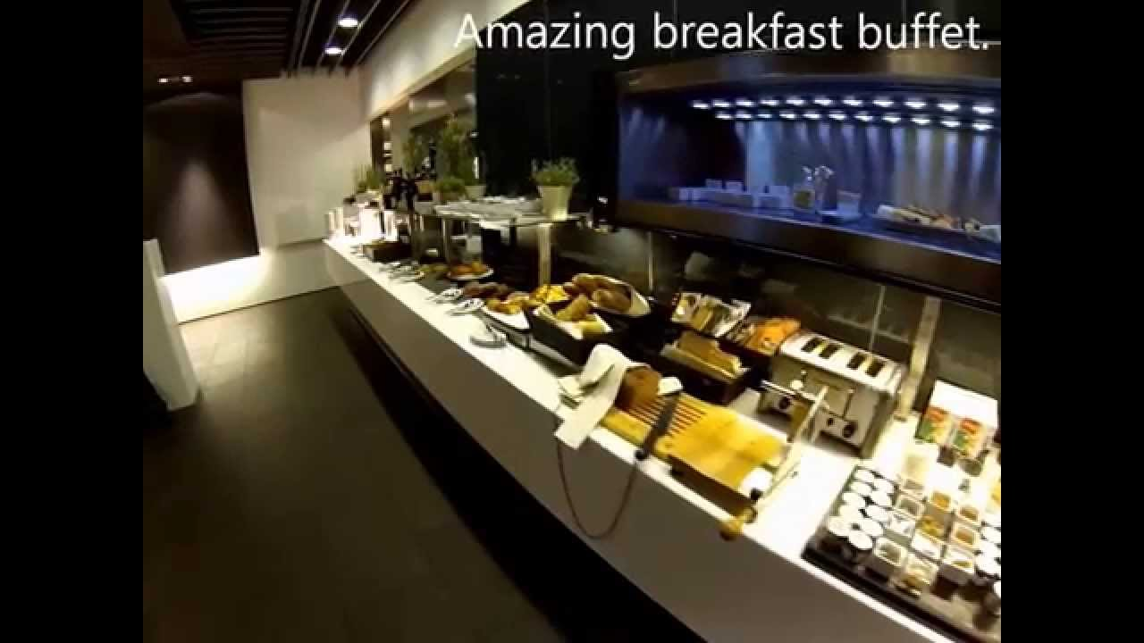 lufthansa first class terminal frankfurt to houston a380 with mercedes amg s class ride youtube. Black Bedroom Furniture Sets. Home Design Ideas
