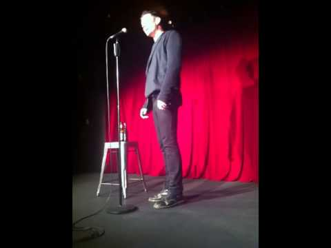 Wil Anderson doing stand up at The Comedy Store on the 25/10/12