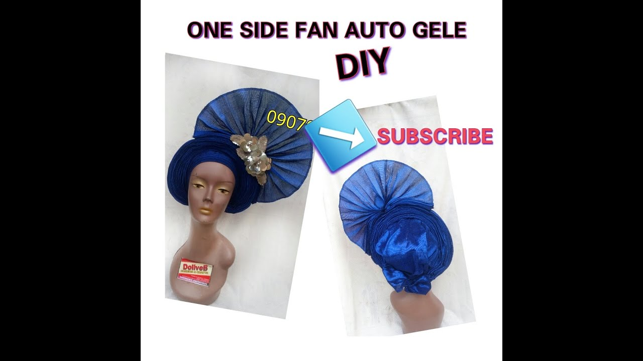 Download Side Fan Auto gele DIY | DoliveB Krafties