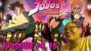CEASAR ZEPPELI!! | Jojo's Bizarre Adventure Episode 14, 15 REACTION!