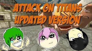 Yamete, Titan Senpai!   ATTACK ON TITANS Tribute Game - Recent Update