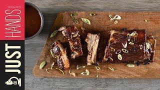 Caramelized pork Ribs | Akis Petretzikis Kitchen