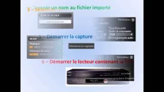 transfert K7 VHS sur DVD
