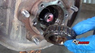 How to Rebuild a Samurai Solid Front Axle (Part 1) Tear Down