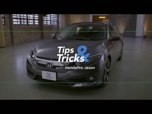 2016 Honda Civic Tips & Tricks: Honda LaneWatch Safety Feature