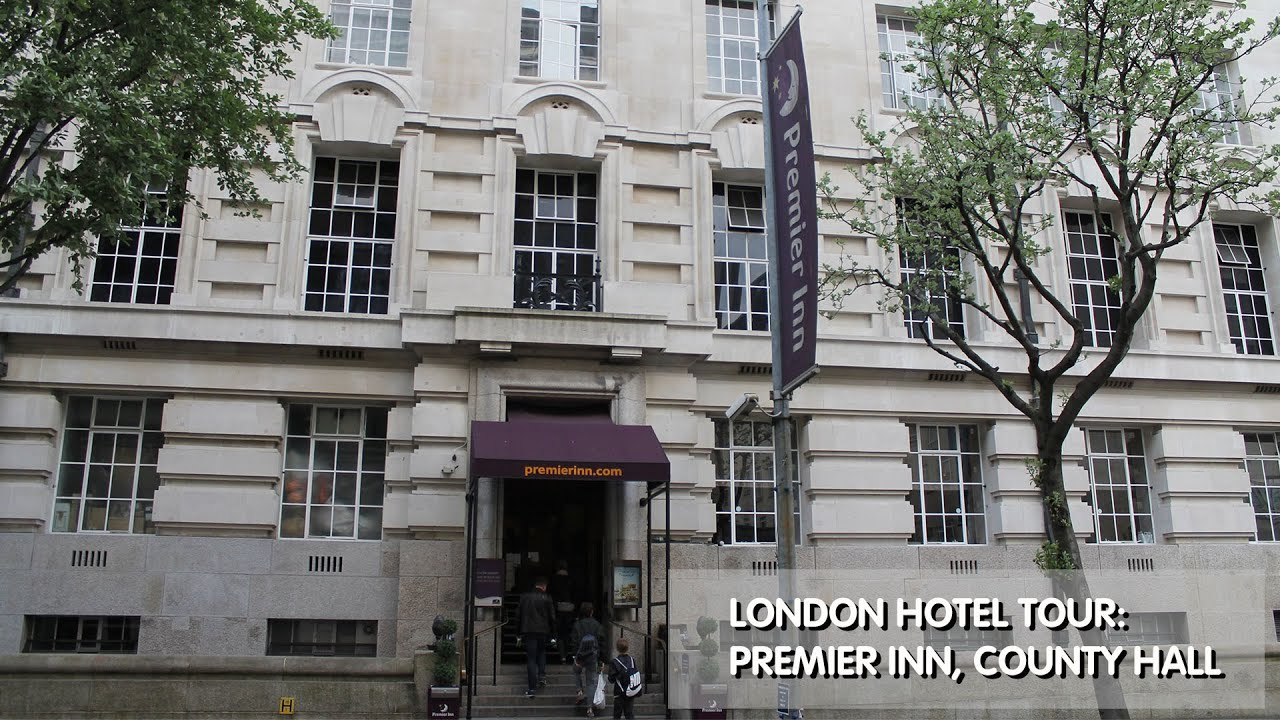 london hotel tour premier inn county hall youtube. Black Bedroom Furniture Sets. Home Design Ideas