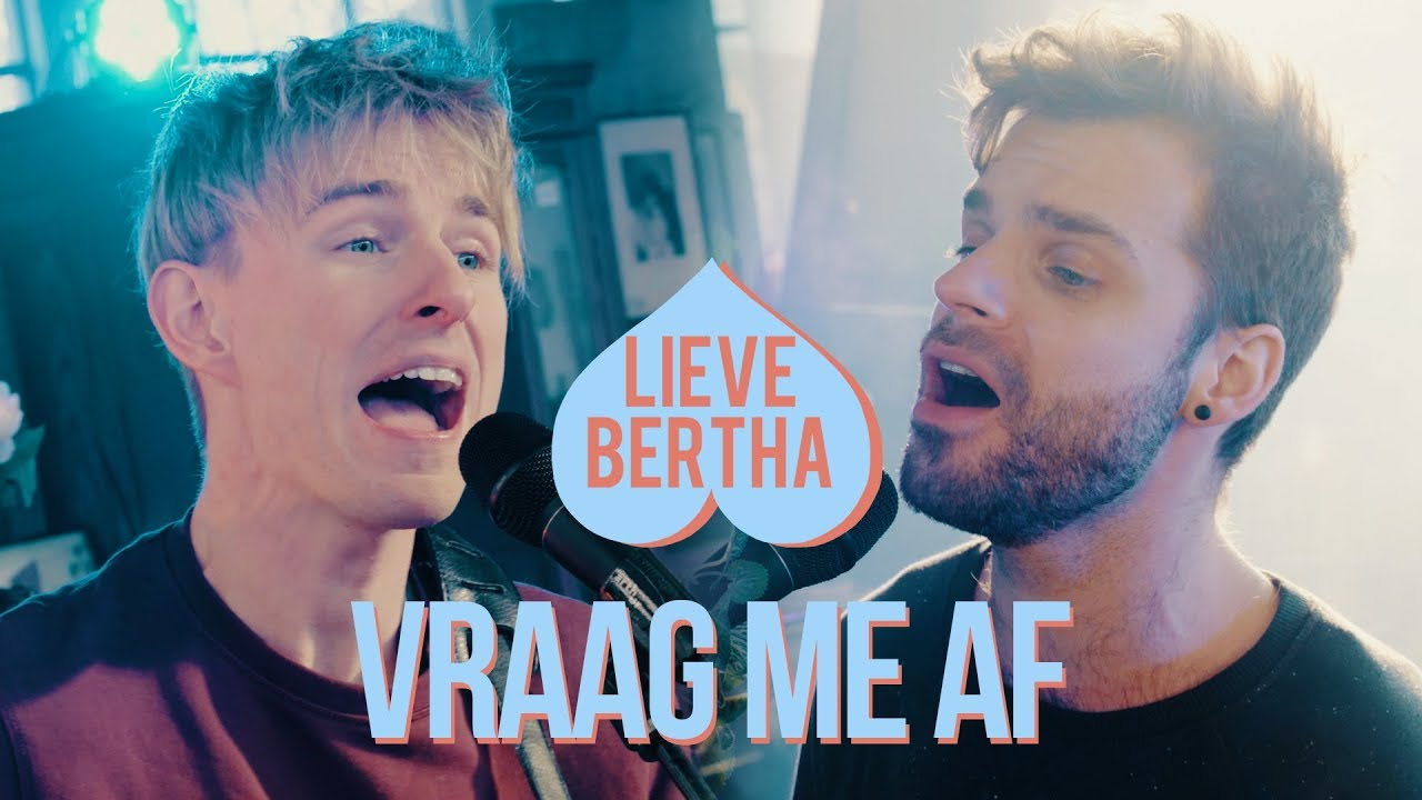 Lieve Bertha - Vraag Me Af (Live)