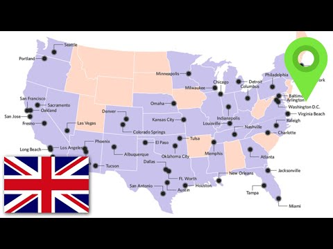 British Person Explains The 50 Biggest Cities USA