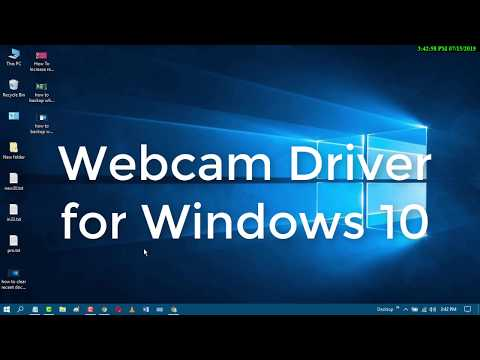Webcam Driver Windows 10