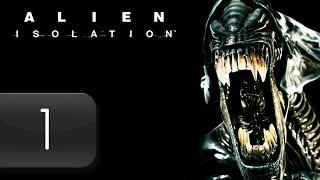 Mr. Odd - Let's Play Alien Isolation [BLIND] - Part 1 - Memories of Nostromo [HARD]