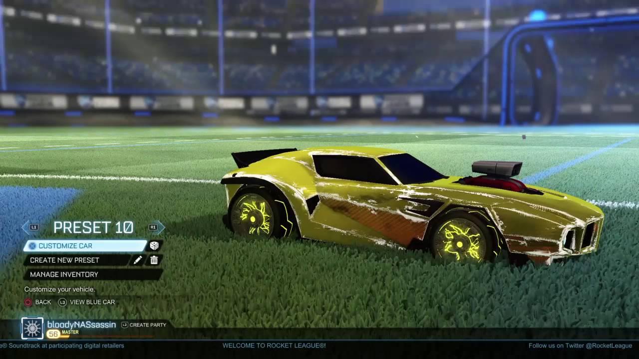 Lightning Wheels Rocket League