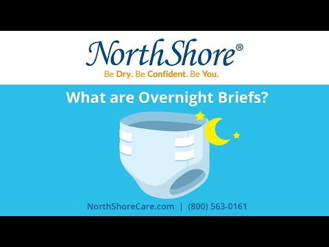 Overnight Fitted Briefs: NorthShore Guide To Incontinence Supplies