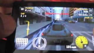 Zune HD 3D Games: Project Gotham Racing, AudioTilt