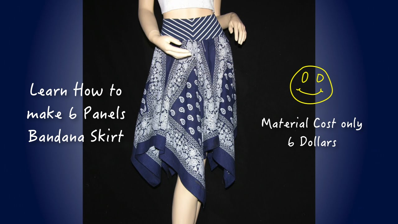 Bandana Skirt Pattern