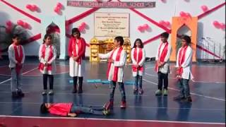 Students of MRIS 51 Gurugram present an inspiring Nukkad Natak on the importance of donating blood!