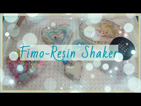 Tutorial  ( DIY )  ^^ Fimo-Resin Shaker ❤ Watch me Craft / Shaker Charm