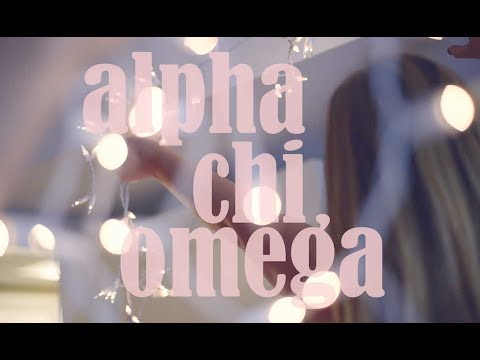 A Year in the Life of an Alpha Chi Omega- Indiana University 2018