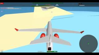 Flying a CRJ-1000 On ROBLOX Part: 2