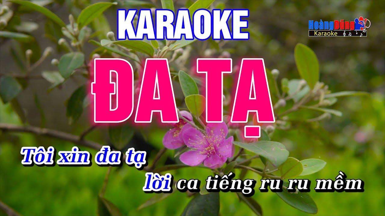 Đa Tạ Karaoke Nhạc Sống Rumba – Hoàng Dũng Karaoke