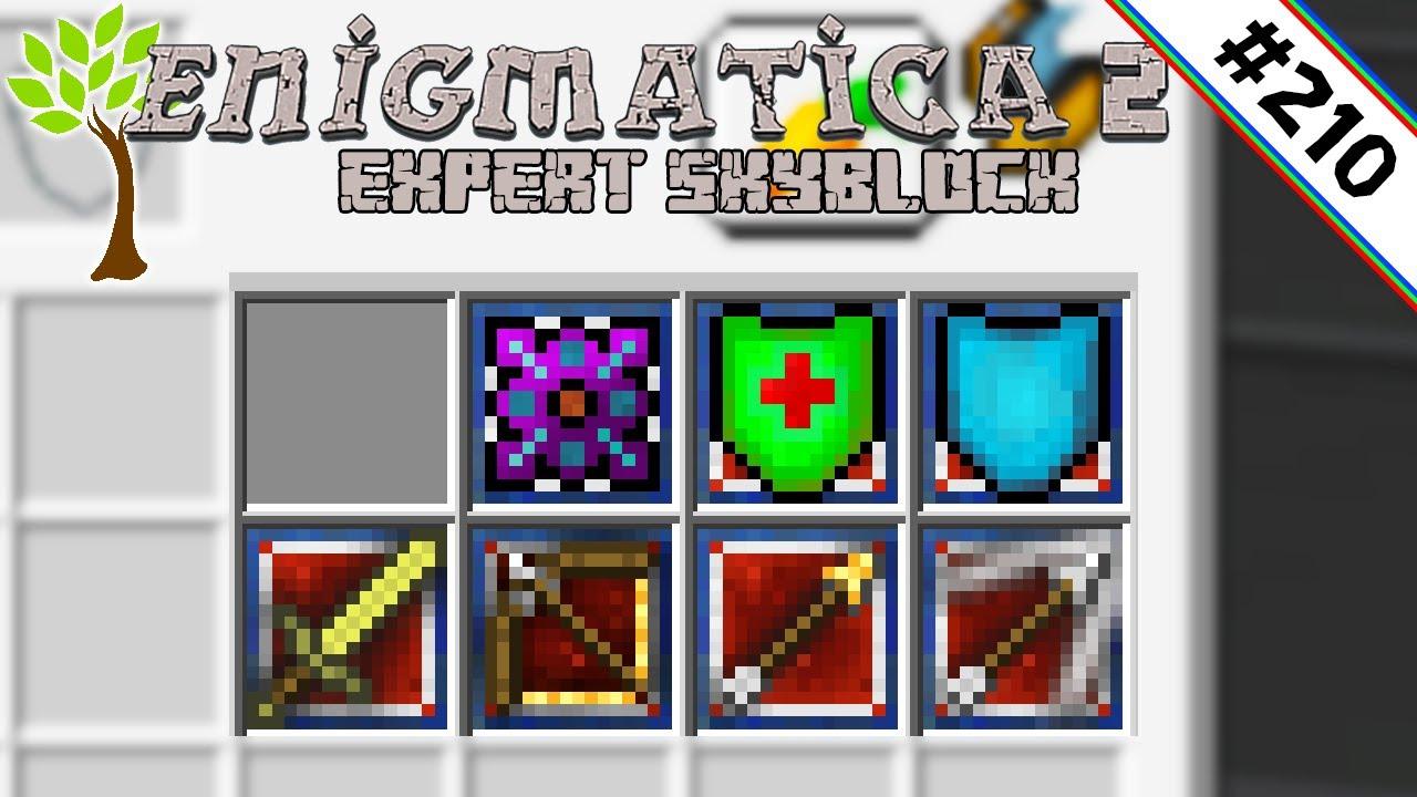 Das große upgraden 🌳 Enigmatica 2 Expert Skyblock #210