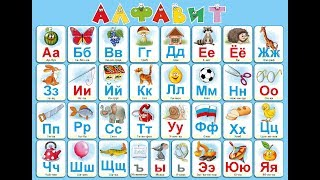 Вкусный алфавит. Учим буквы. Азбука для малышей.
