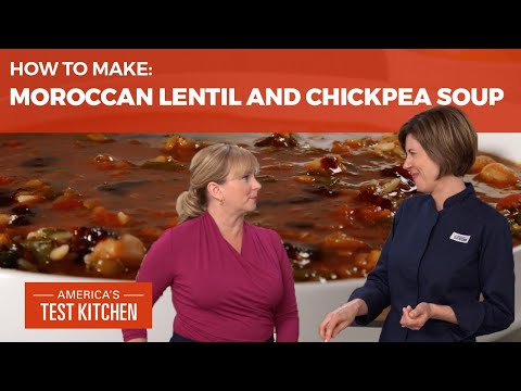 How to Make Harira (Moroccan Lentil and Chickpea Soup)