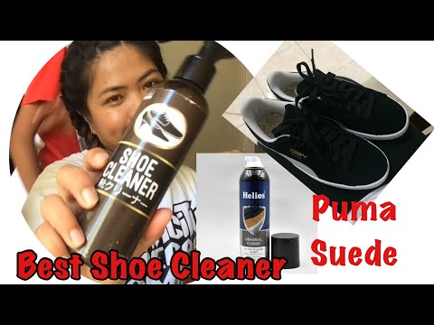 How to clean puma suede shoes 2019